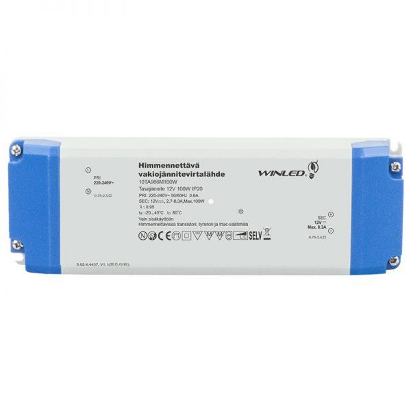 Winled LED-muuntaja (himmennettävä) 12V, 100W