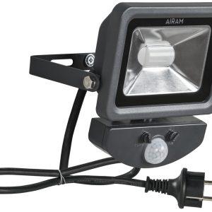 Airam Floody 10W/700lm LED-valonheitin (4000K), liiketunnistimella