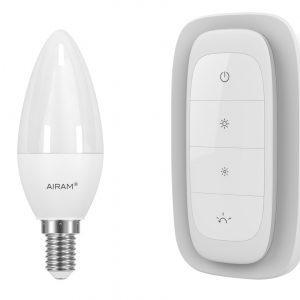 Airam Wireless älyvalaistus Starter Set (E14 lamppu+ohjain)